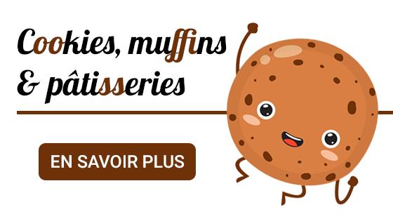 Cookies, muffins & pâtisseries