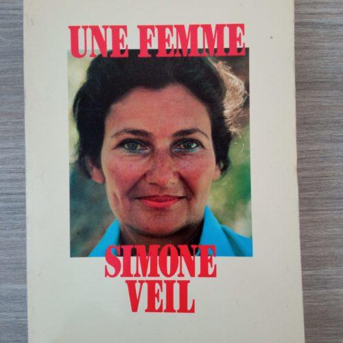 Une femme Simone Veil