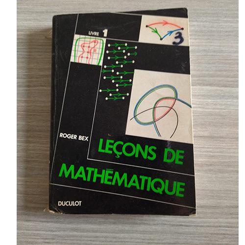 Leçons de mathématique