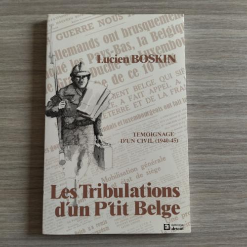Les Tribulations d'un P'tit Belge